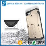 Cobertura híbrida Shochproof Hybrid Cell / Mobile / Case para iPhone 7plus com Stander