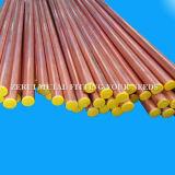 tubo de cobre destemplado suave de 15m m para el gas médico