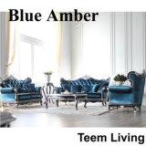 Sofà di qualità superiore del salone di legno solido per la decorazione classica di stile