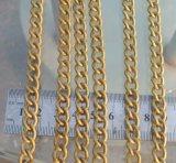 Latón plateado Cadena Cable, Cadena decorativo; Cadena de hierro; Cadena de acero inoxidable