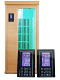 Precio del panel de control de la temperatura ambiente del vapor de la sauna con la visualización azul del LCD de la cinta