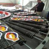 Vidrio de mosaico que procesa el horno