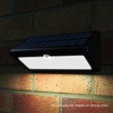 40LED高い発電のアルミニウム動きセンサーの太陽屋外の壁ライト