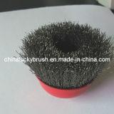 """"""" escova frisada do copo do aço 3 inoxidável para mmoer (YY-312)"""