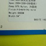 Tissu lisse de Spandex en nylon