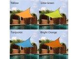 HDPE Garten-Farbton-Segel-Dreieck-Farbton-Segel-Quadratsun-Farbtöne