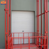 La Cina Made Goods Lift con Collapsible Gate