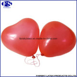 Rote Herz-Form aufblasbarer Helium-Ballon für Partei und Hochzeit