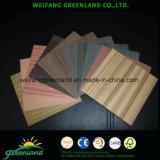 Madera contrachapada de madera natural para muebles con película Sapele, película de cerezo, película de roble, película de nogal, película de teca