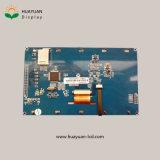 Индикация 800X480 LCD с емкостным экраном касания