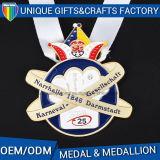 Medalhão feito sob encomenda da medalha de ouro do metal da venda 2017 quente