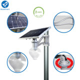 Lampe de jardin à économie d'énergie solaire à LED Street avec capteur de mouvement