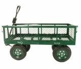 Garten-Hilfsmittel-/High-Grad-Stahl ineinandergegriffene Garten-Karre (TC4205)
