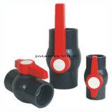 플라스틱 PVC 확실한 두 배 조합 공 벨브