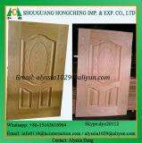 Piel a prueba de humedad verde de la puerta de HDF