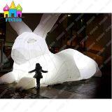 Finego, das Kaninchen riesige des Luft-Massen-aufblasbares Mars-Ballon-LED für im Freiendekoration beleuchtet