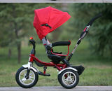 China 4 in 1 Driewieler van de Jonge geitjes van de Baby met Ce van de Kinderwagen van de Wandelwagen van de Baby van de Staaf van de Duw