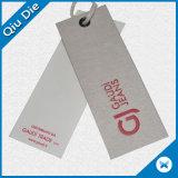 Étiquette du fabriquant de papier de qualité pour le vêtement