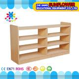 木のおもちゃの食器棚、子供の幼稚園の家具(XYH12137-4)