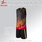 最新の昇華ブランクのカスタム最もよいバスケットボールのジャージのユニフォームセット