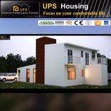 Ayuna el chalet prefabricado ensamblado del panel de emparedado de la casa del cemento de la espuma de la casa