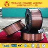 0.9mm Sg2/Er70s-6の証明書ISO9001 TUVが付いている銅の固体はんだの溶接ワイヤ