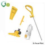 Stofzuiger van het Huis van het handvat de Mini voor de Reinigingsmachine van de Stok van de Kleur van Yellow&White van het Huis 2in1 met de Flexibele Borstel van de Grond, Lang Koord m-10