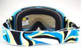 スキーアクセサリの紫外線保護はヘルメットの互換性のある雪ガラスを遊ばす
