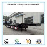 Lowbed populaire semi Itrailer avec 4 essieux de fournisseur de la Chine