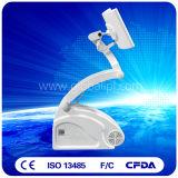 PDT LED 얼굴 피부 청소 아름다움 기계 빨강과 파란 다이오드 Laser