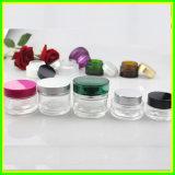 Le produit de beauté clair en verre neuf de 50ml 60ml cogne le choc en verre crème de empaquetage cosmétique de Bottl