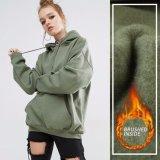 Überformatpolyester-Sport-Frauen-Pullover Hoody des plaid-80% des Polyester-20%