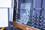 Macchina elaborante di vetro della macchina di vetro di sabbiatura di alta efficienza