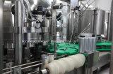 炭酸飲料の缶詰になる機械