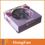 Kundenspezifisches kosmetisches Paket-Pappgeschenk-Papierkasten mit Kappe
