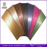 Fatto in alta qualità della scheda spazzolata la Cina dell'acciaio inossidabile