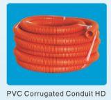 Conducto del PVC y conducto acanalado de Conduite y de Telstra