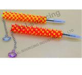 シリコーンゴムのチャーミングなペンダントが付いている先の尖ったボールペン