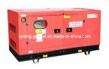 тепловозный молчком генератор 25kVA-37.5kVA с двигателем Isuzu (IK30300)