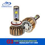 30W 3000lm H11 크리 사람 LED 헤드라이트 장비 6000k