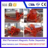 Separatore magnetico permanente del rullo per il minerale ferroso da Method-4 bagnato