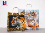 動物のNon-Woven手持ち型のショッピング・バッグ