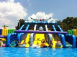 Neues Design Pool und Water Slide Giant Cheap Inflatable Water Park