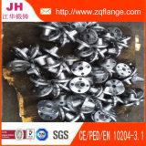 Schweißens-Stutzen-Kohlenstoffstahl-Flansch des Schweißens-DIN2634 Pn25