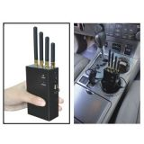 emittente di disturbo portatile di WiFi dell'emittente di disturbo di GPS dell'emittente di disturbo del telefono delle cellule 4-Antennas