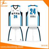 Healongのベストセラーの昇華転送のバスケットボールのジャージのユニフォーム
