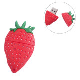 New Fashion Strawberry USB Flash Drive 1GB 2GB 4GB 8GB 16GB 32GB Fruit Pen Drive Cartoon Pendrive 100PCS / Lot
