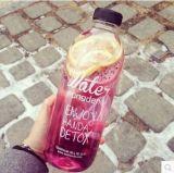 De lege Container van het Glas, de Fles van het Water van het Glas, het Drinken de Fles van het Glas