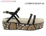 Le donne di modo calza piattaforma spessa del sandalo di EVA dei 2016 sandali la sola