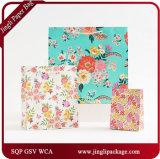 2017의 새로운 디자인 쇼핑 종이 봉지 아기 선물은 아기 쇼핑 백을 자루에 넣는다